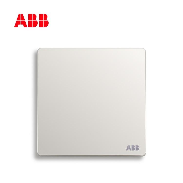 轩致系列一位单控开关 16AX, 直边, 雅典白, AF127L;10223287