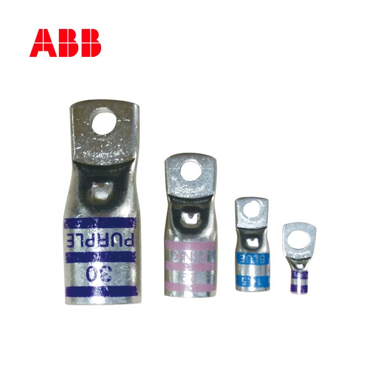ABB冷压连接器 铜鼻子 线鼻子10M6-NT-6;10151910