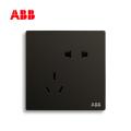轩致系列五孔插座10A, 星空黑, 10183616