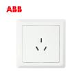 ABB开关插座徳逸系列白色一位三极插座 16A