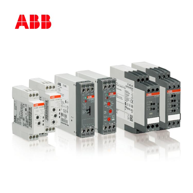 时间继电器CT-ERE,1c/o,0.3-30m,24VAC/DC 220-240VAC