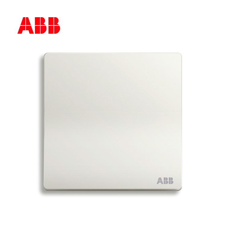 轩致系列一位单控开关 16AX, 折边, 雅典白, 10183431
