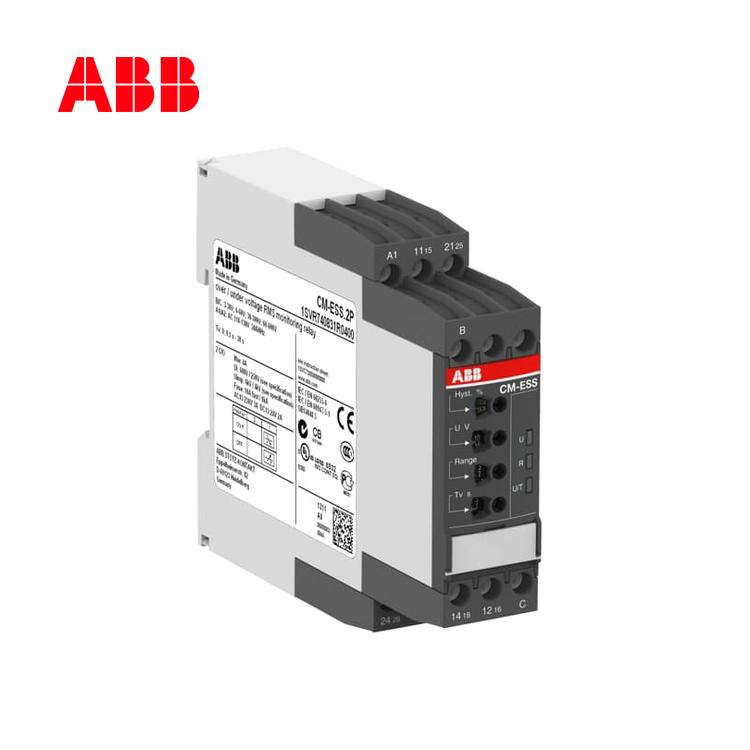 单相电压监视器CM-ESS.2S, 2c/o, 3-600V, 24-240VAC/DC;10066438