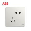 轩致系列五孔插座10A, 雅典白, 10183450